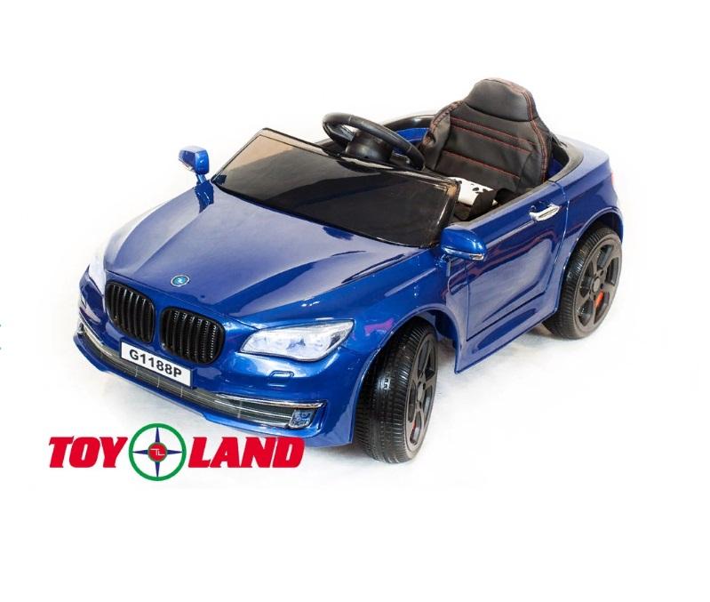 Купить Электромобиль ToyLand BMW 5 синего цвета