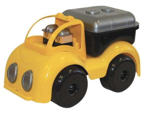 Цистерна строительная для малышей из серии Крепыш, 33 см.Машинки для малышей<br>Цистерна строительная для малышей из серии Крепыш, 33 см.<br>