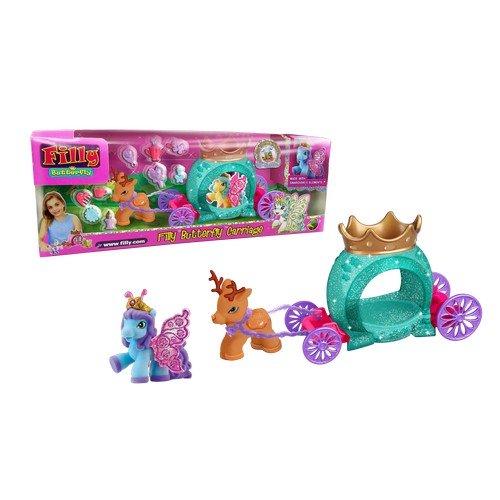 Набор игровой «Filly» - Бабочки с блестками «Волшебная карета»Лошадки Филли Filly Princess<br>Набор игровой «Filly» - Бабочки с блестками «Волшебная карета»<br>