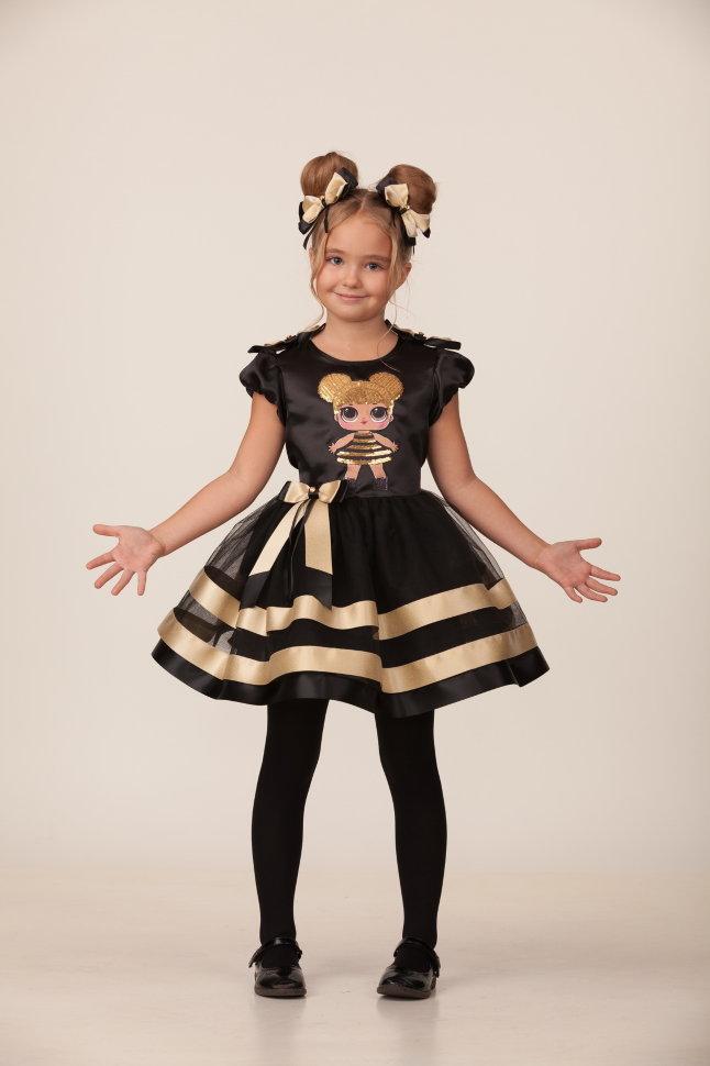 Карнавальный костюм для девочек – Золотая пчелка, размер 122-64