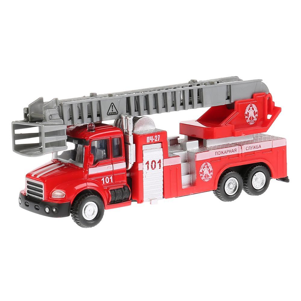 Купить Металлическая инерционная модель – Пожарная машина, 15, 5 см, Технопарк