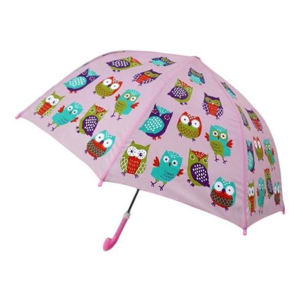 Зонт детский - Совушки, 46 см.Детские зонты<br>Зонт детский - Совушки, 46 см.<br>