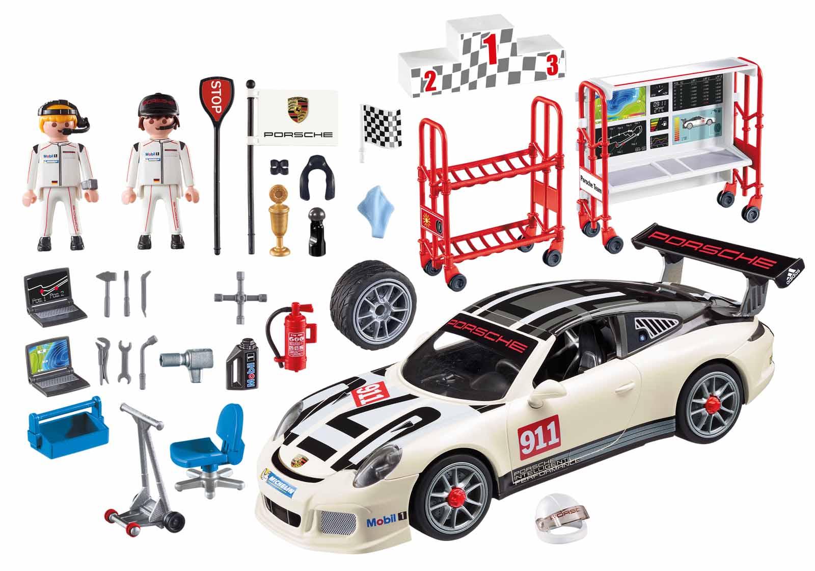 Купить Игровой набор – Porsche 911 GT3 Cup, свет, Playmobil