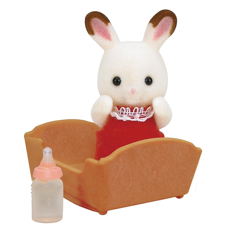 Купить Sylvanian Families - Малыш шоколадный кролик