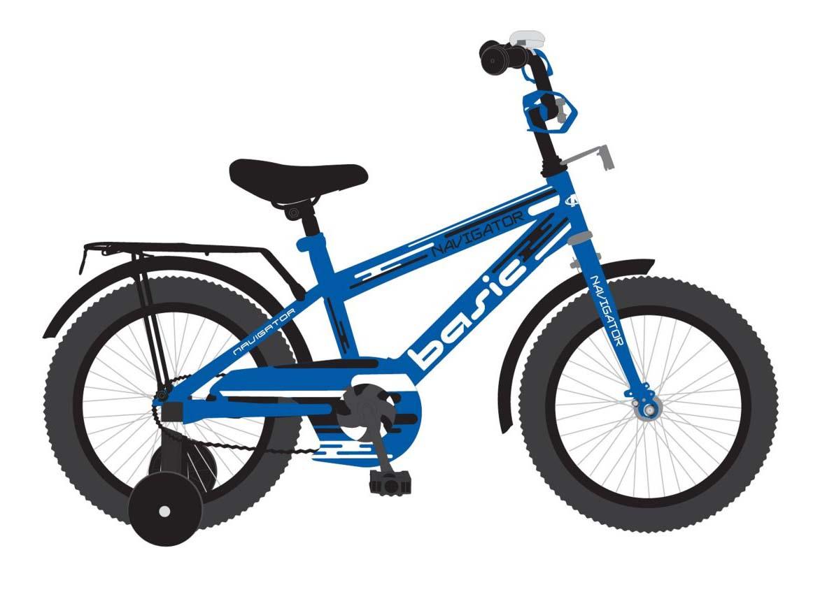 """Детский велосипед – Basic, колеса 18"""""""
