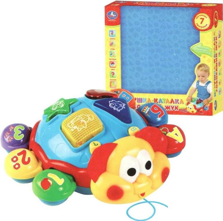 Игрушка  Говорящий жук  - Интерактив для малышей, артикул: 131021