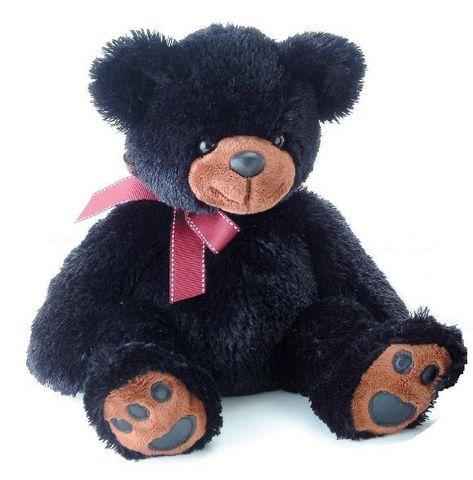 Медведь чёрный 70 см - Медведи, артикул: 25303