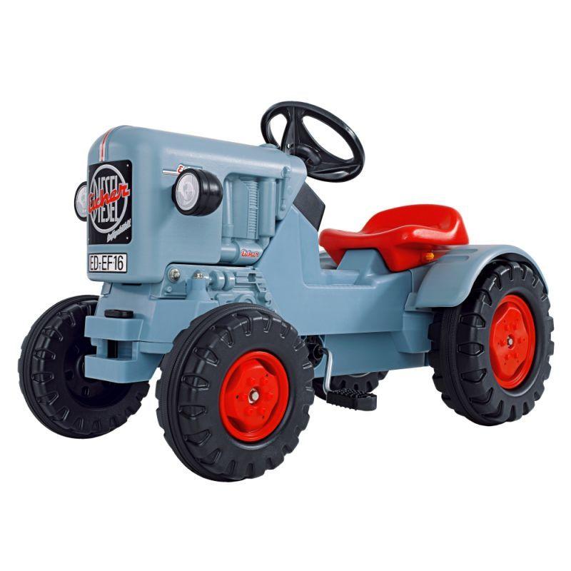 Детский педальный трактор погрузчик Eicher
