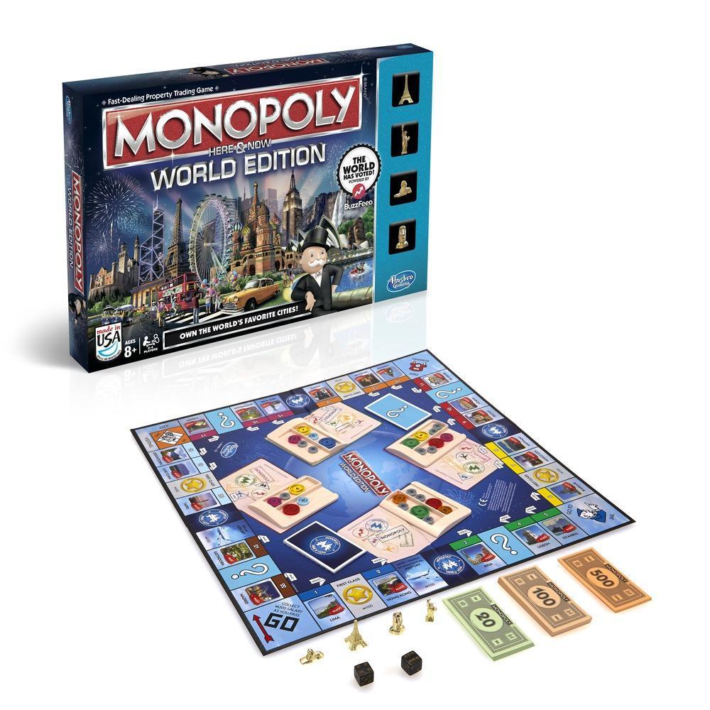 Настольная игра Монополия  Здесь и сейчас  - Монополия, артикул: 125551