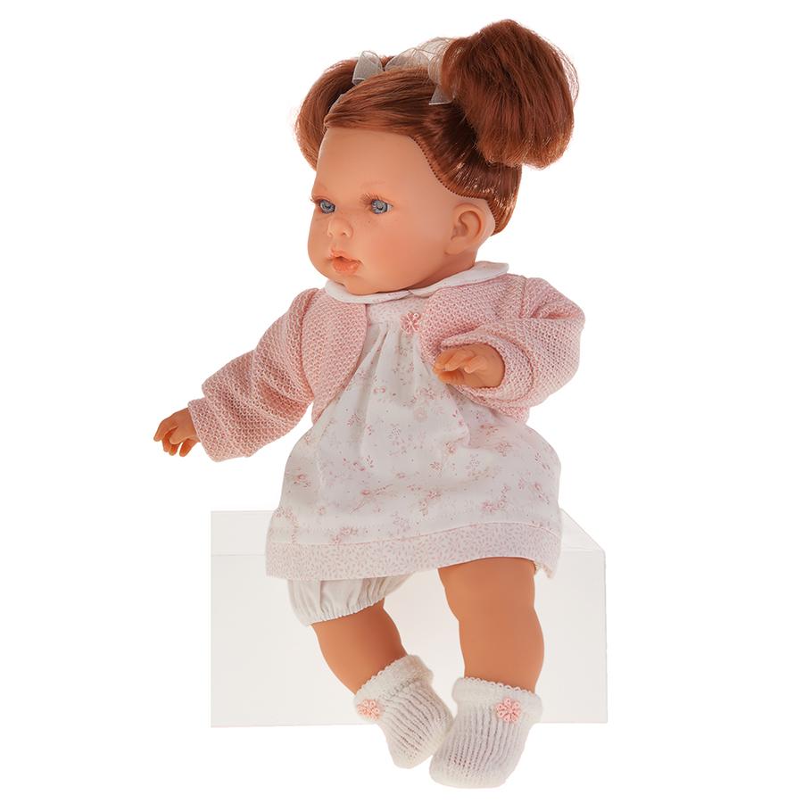 Кукла Тереза в розовом, озвученная, 37 см. фото