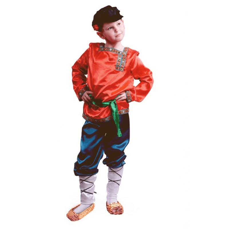 Карнавальный костюм - Ванюшка, размер 122-64 фото