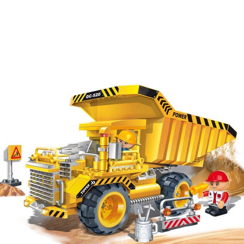 Конструктор - Большой грузовой самосвалКонструкторы BANBAO<br>Конструктор - Большой грузовой самосвал<br>