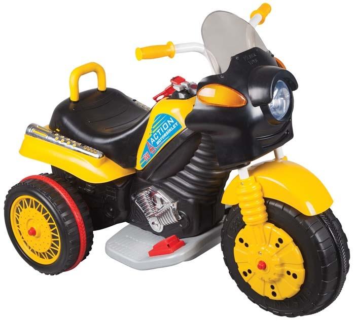 Электромотоцикл Action, свет и звукМотоциклы детские на аккумуляторе<br>Электромотоцикл Action, свет и звук<br>