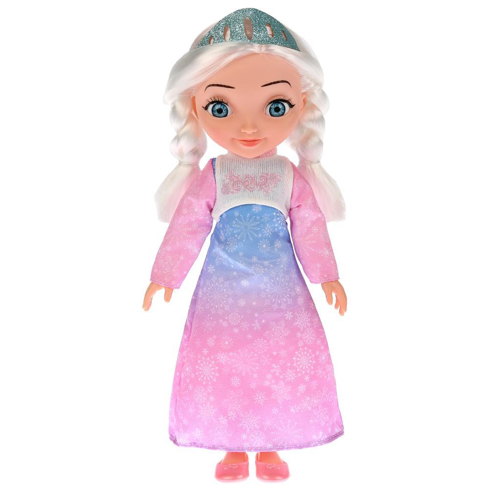 Купить Интерактивная кукла Царевны – Аленка. Елена прекрасная, 32 см, 15 фраз и песен из м/ф, Карапуз