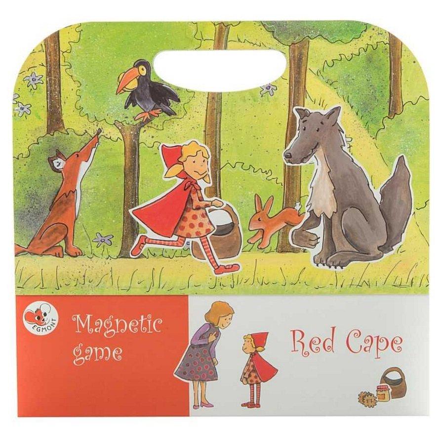 Детская настольная магнитная игра – Красная шапочка, Egmont  - купить со скидкой