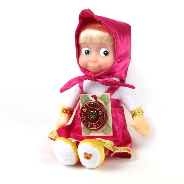 Мягкая игрушка Маша озвученная, с музыкальным чипом, 22 см.Говорящие игрушки<br>Мягкая игрушка Маша озвученная, с музыкальным чипом, 22 см.<br>