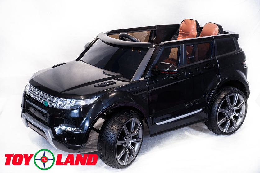 Электромобиль Range Rover черныйЭлектромобили, детские машины на аккумуляторе<br>Электромобиль Range Rover черный<br>