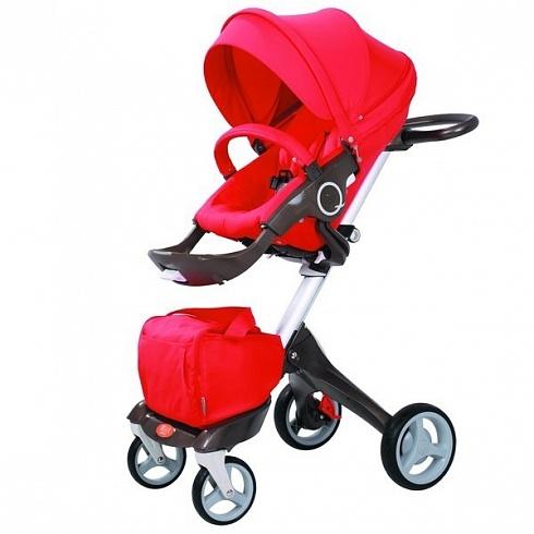 Детская коляска 2 в 1 - Nuovita Sogno, красная