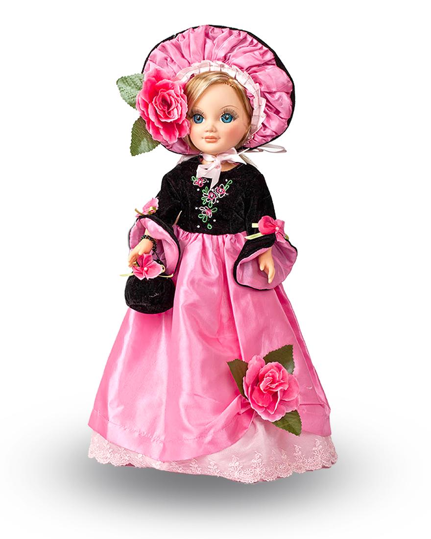 Озвученная кукла Анастасия Фуксия, 42 смРусские куклы фабрики Весна<br>Озвученная кукла Анастасия Фуксия, 42 см<br>