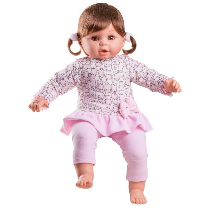 Кукла Лаура, 60 смИспанские куклы Paola Reina (Паола Рейна)<br>Кукла Лаура, 60 см<br>