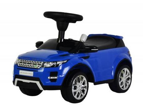 Машинка-каталка – Range Rover Evoque, синий, звукМашинки-каталки для детей<br>Машинка-каталка – Range Rover Evoque, синий, звук<br>