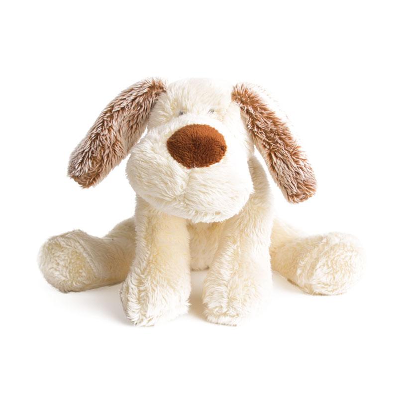 Мягкая игрушка  Щенок Санти, лежачий, 37 см - Собаки, артикул: 175311