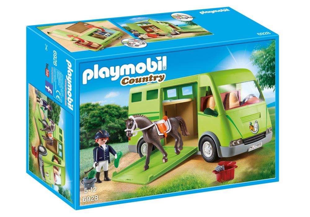 Купить Игровой набор из серии - Ферма: Лошадиный бокс, Playmobil