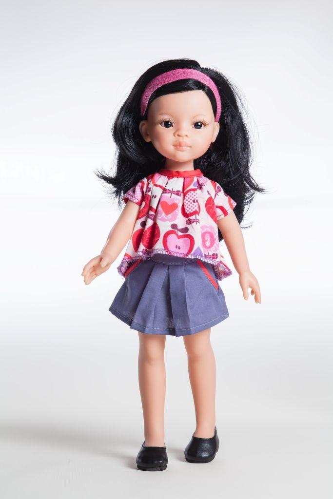 Кукла Лиу, 32 смИспанские куклы Paola Reina (Паола Рейна)<br>Кукла Лиу, 32 см<br>