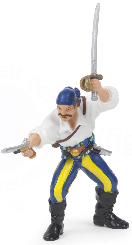 Корсар с пистолетом и мечомФигурки Papo<br>Корсар с пистолетом и мечом<br>