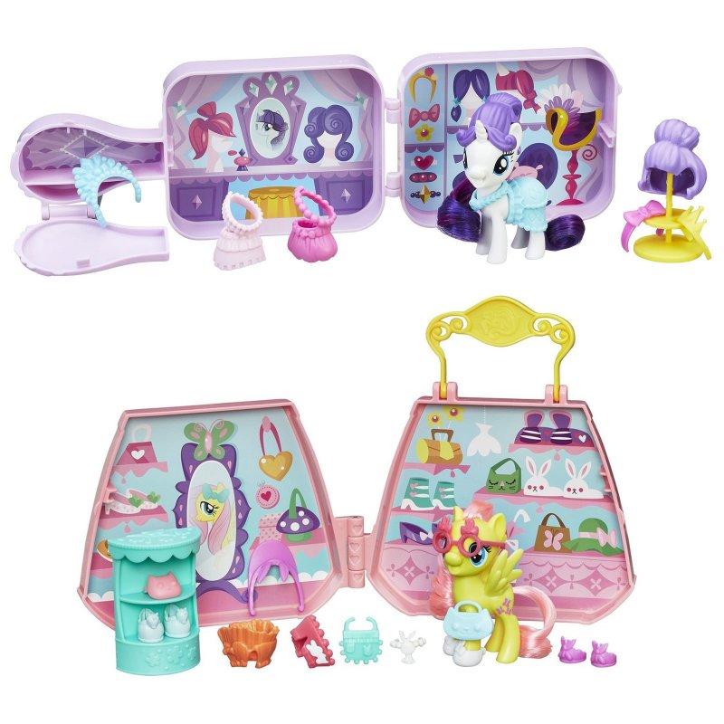 Игровой набор My Little Pony Movie - Пони - Возьми с собойМоя маленькая пони (My Little Pony)<br>Игровой набор My Little Pony Movie - Пони - Возьми с собой<br>