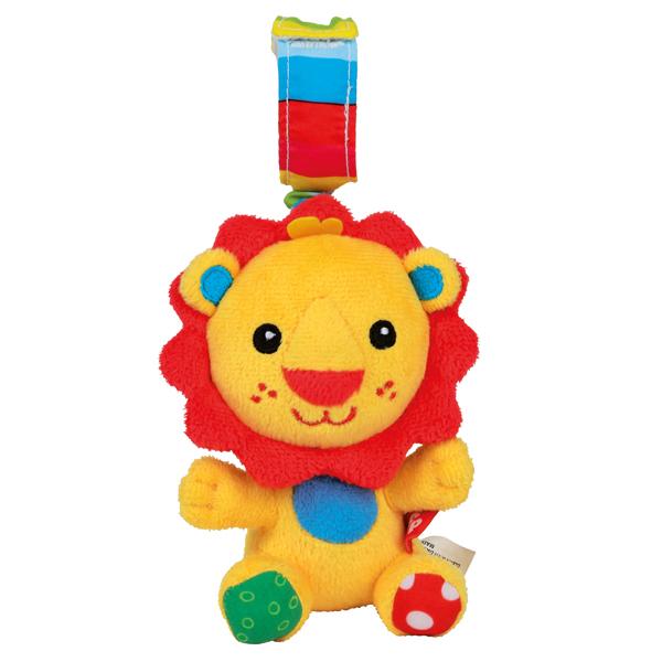 Погремушка-растяжка ЛьвенокДетские погремушки и подвесные игрушки на кроватку<br>Погремушка-растяжка Львенок<br>