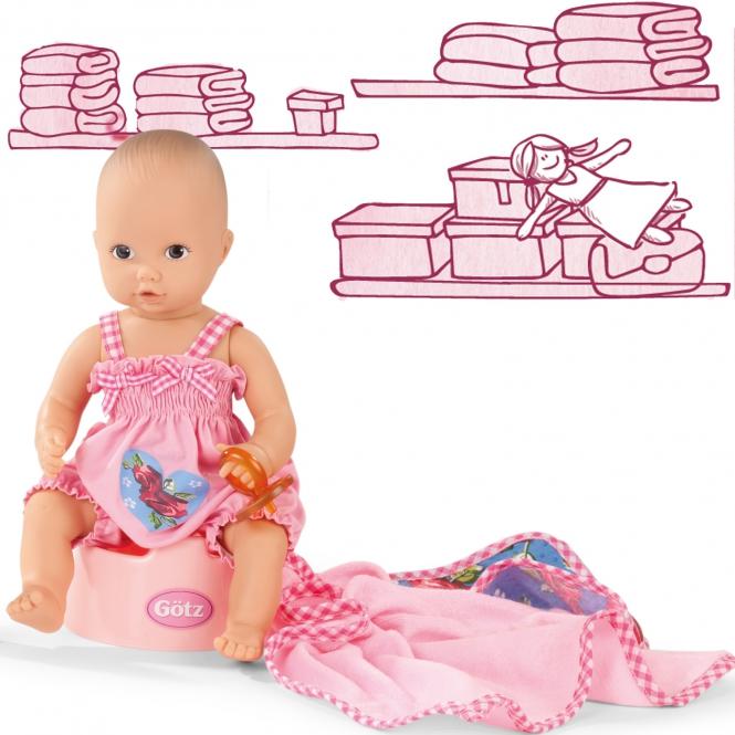Купить Кукла Аквини, 33 см, 7 аксессуаров, Gotz