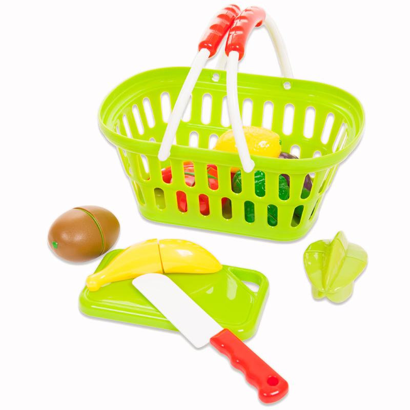 Помогаю Маме. Набор продуктов для резки на липучках, 17 предметовАксессуары и техника для детской кухни<br>Помогаю Маме. Набор продуктов для резки на липучках, 17 предметов<br>