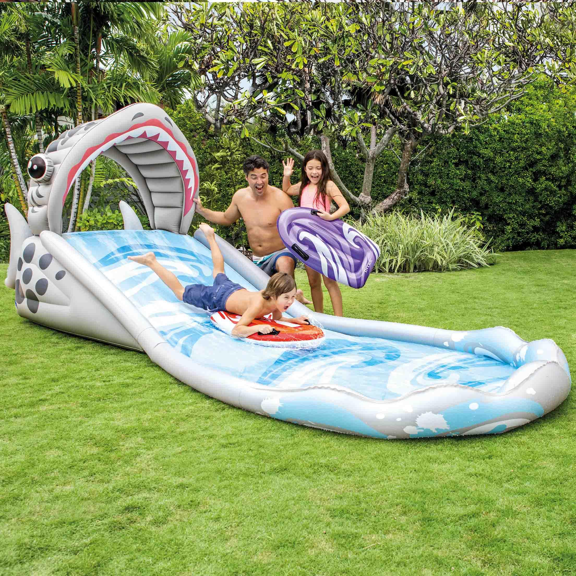 Купить Надувной игровой центр - Серфинг, 2 надувные доски, 460 х 168 х 157 см, Intex