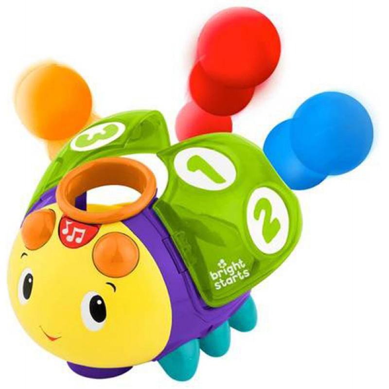 Купить Развивающая игрушка - Жучок 1-2-3, звук, движение, Bright Starts