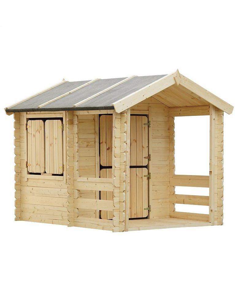 Игровой домик для детей из серии Oливия, базовый с верандой - Пластиковые домики для дачи, артикул: 161328