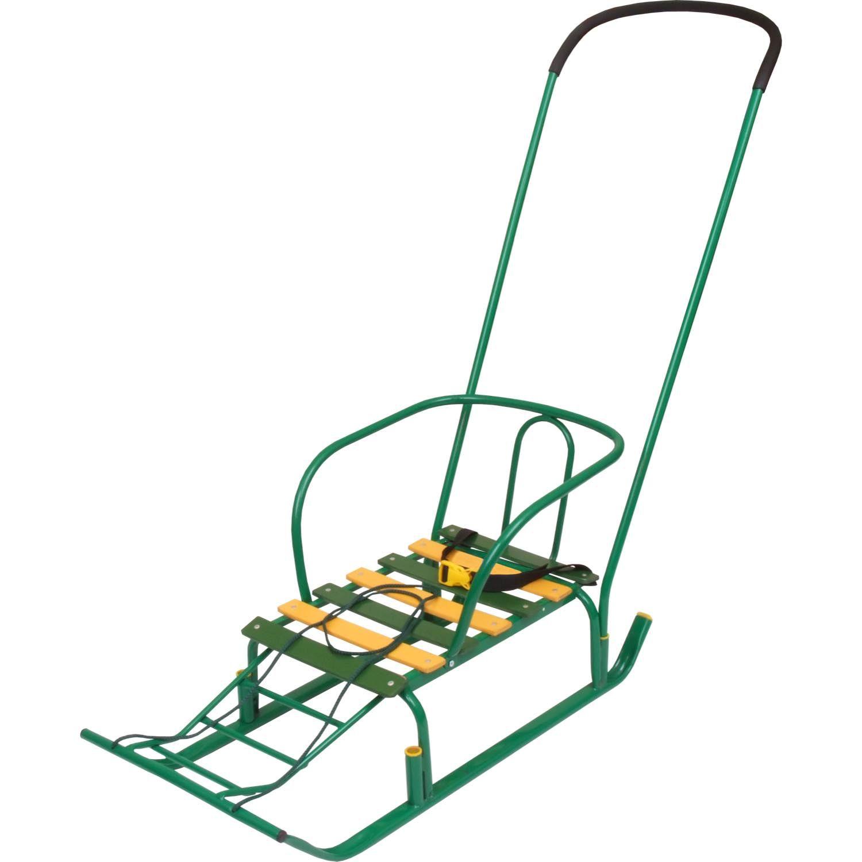 Детские санки - Тимка 5, зеленыеСанки и сани-коляски<br>Детские санки - Тимка 5, зеленые<br>
