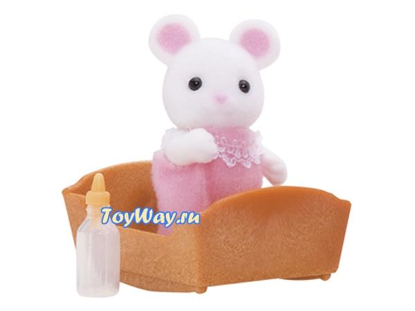 Купить Sylvanian Families - Малыш Белый Мышонок