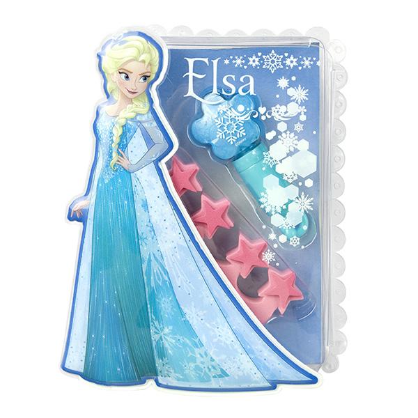 Набор детской декоративной косметики Эльза из серии FrozenЮная модница, салон красоты<br>Набор детской декоративной косметики Эльза из серии Frozen<br>