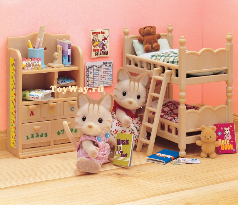 Sylvanian Families - Детская комната