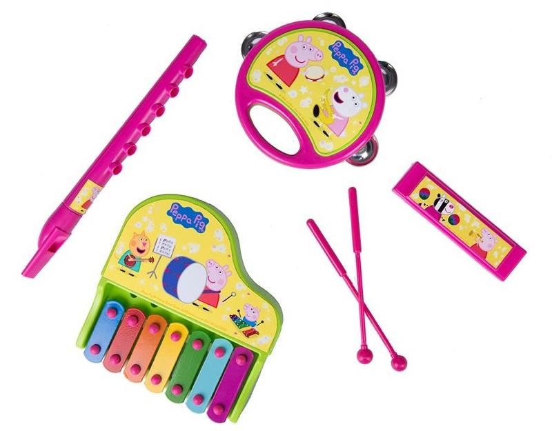 Набор музыкальных инструментов из серии Свинка ПеппаМузыкальные наборы<br>Набор музыкальных инструментов из серии Свинка Пеппа<br>