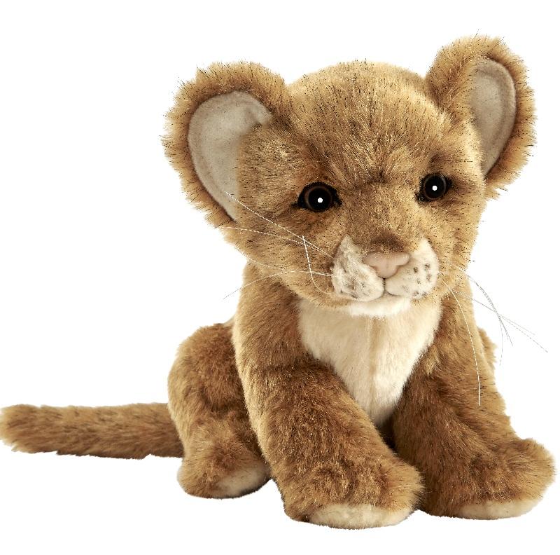 Львенок коричневый, 17 смДикие животные<br>Львенок коричневый, 17 см<br>