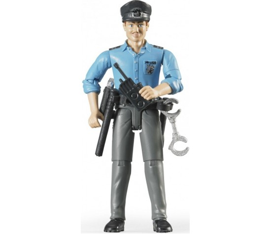 Bruder. Фигурка полицейского с аксессуарамиАксессуары<br>Bruder. Фигурка полицейского с аксессуарами<br>