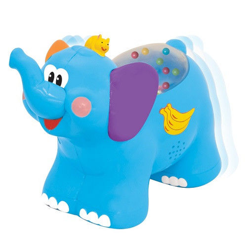 Развивающая игрушка - каталка «Слоненок»