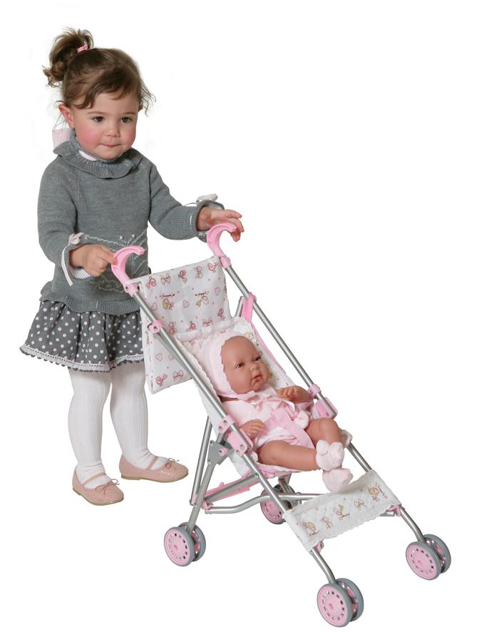 Коляска-трость с мешком для коляски, 56 смКоляски для кукол<br>Коляска-трость с мешком для коляски, 56 см<br>