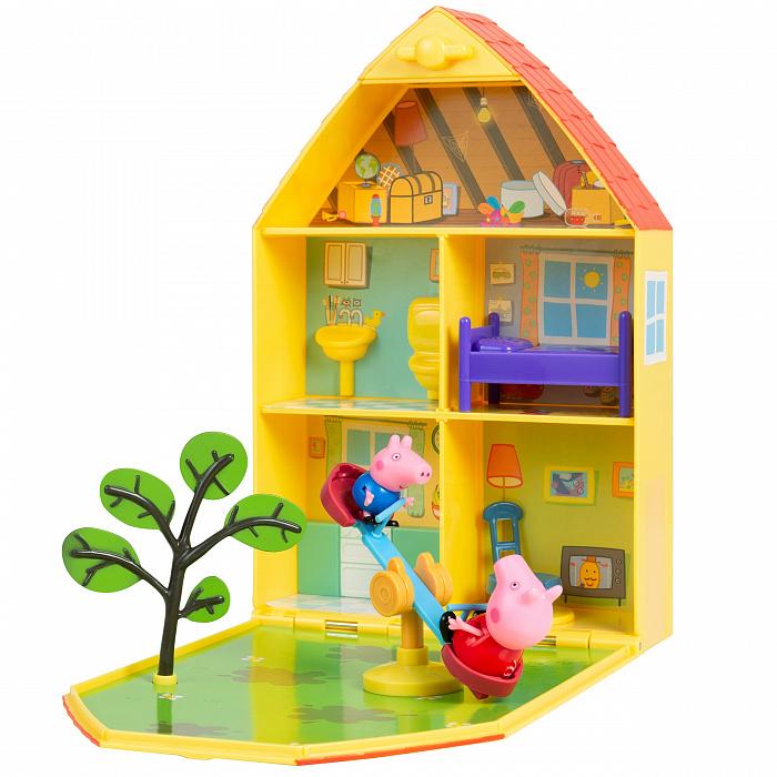 Купить Игровой набор ™ Peppa Pig - Пеппа на даче, Росмэн