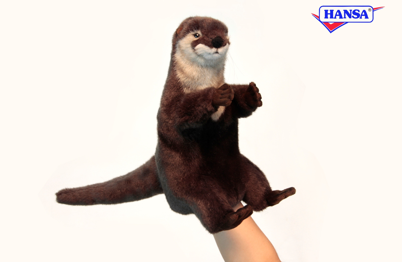 Игрушка на руку – ВыдраДетский кукольный театр <br>Игрушка на руку – Выдра<br>