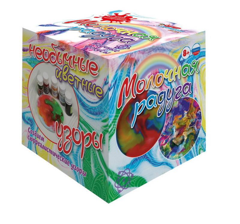 Купить Мини-набор для экспериментов Молочная радуга, Научные технологии