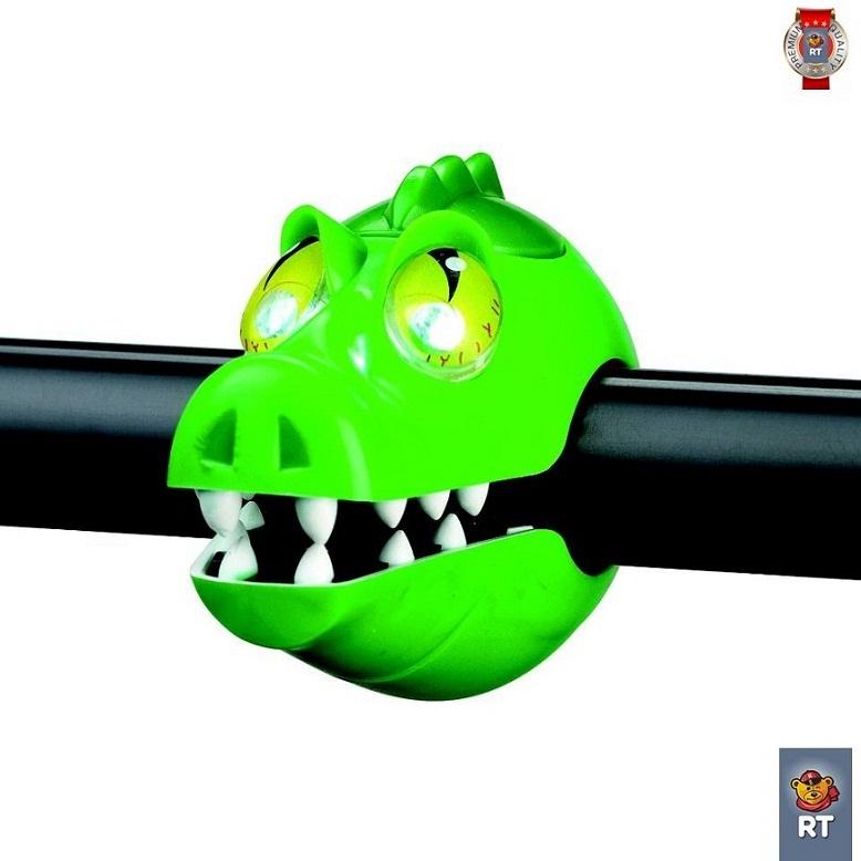 320240 Фонарик Crocodile light с брелком-фонариком - Крокодил фото
