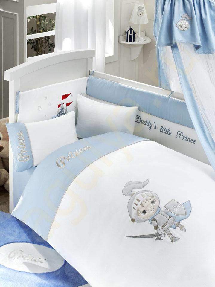 Комплект постельного белья из 3 предметов серия Little PrinceДетское постельное белье<br>Комплект постельного белья из 3 предметов серия Little Prince<br>